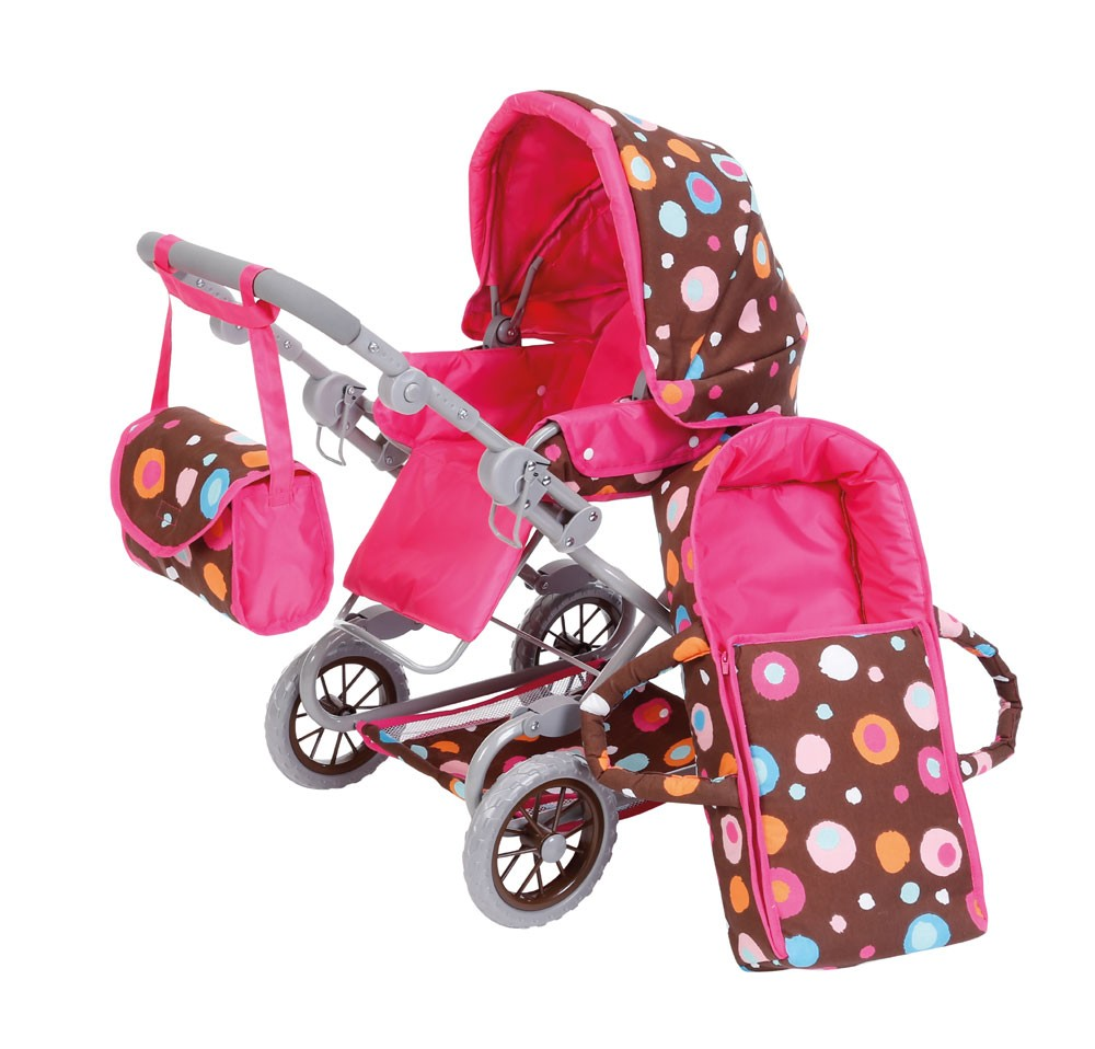 Puppenkombiwagen Salsa Design Splash brown