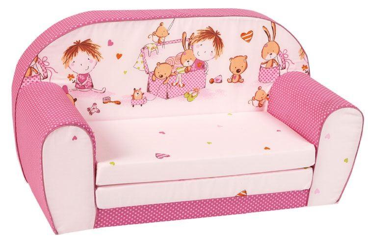 Knorr-Baby Kindersofa pink