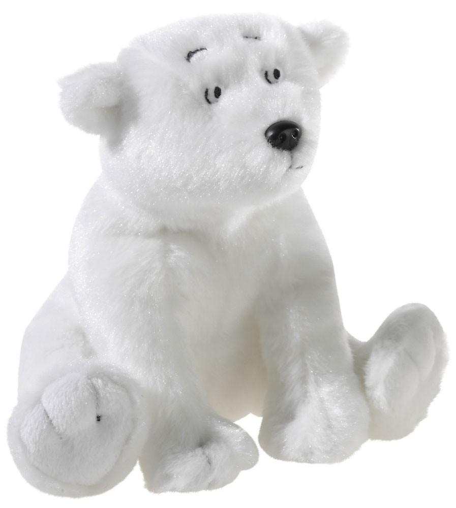 Kleiner Eisbär Lars, sitzend Grösse 15cm