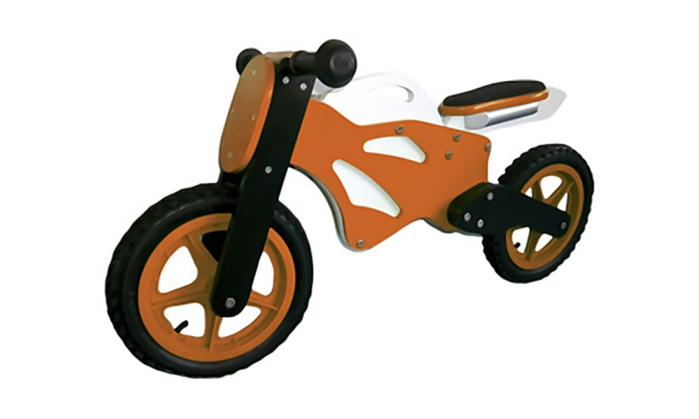 Lauflernrad Superbike, orange