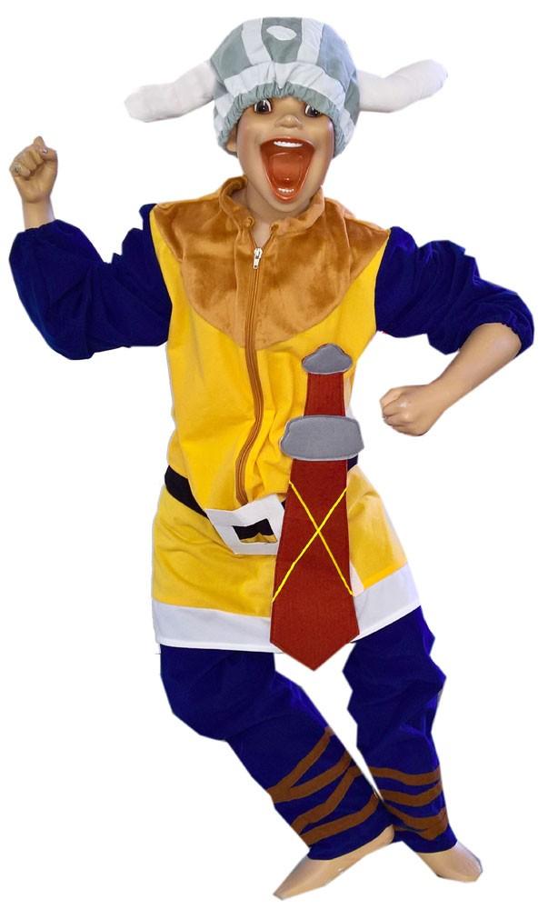 Karneval Kinderkostüm Wikinger, Größe 104