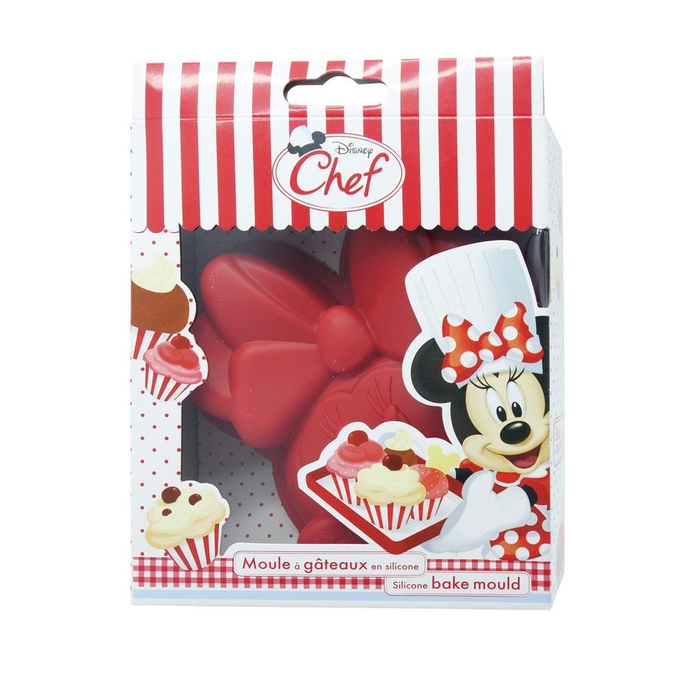 Minnie Mouse Silikonbackform, Kopf klein