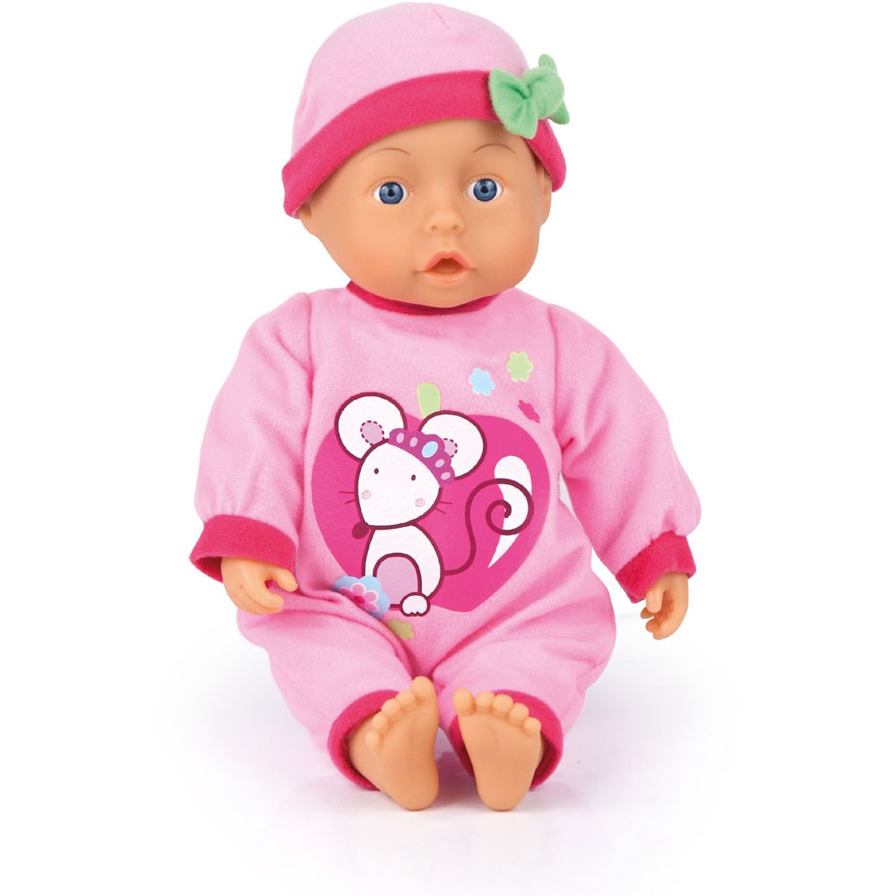 Puppe First Words Baby, 28 cm Farbe rosa