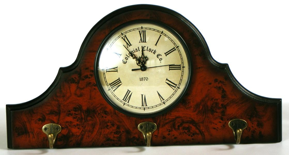 Wanduhr Colonial Clock