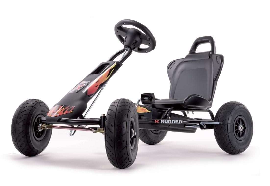 Go-Carts, Air Runner mit Soundbox Night-Rider