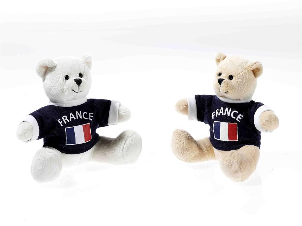 E M-Bärchen mit Shirt Frankreich, 1 Stück, sortierte Ware