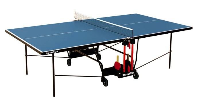 Tischtennisplatte - Bandito Outdoor inkl. Netz