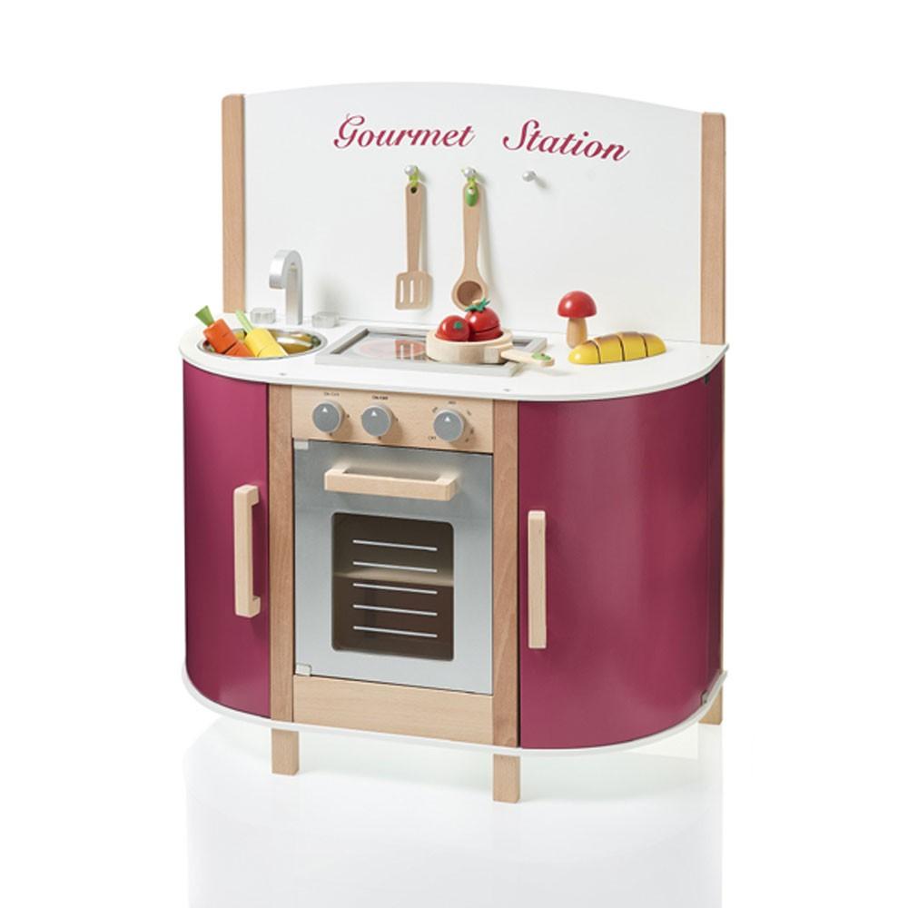 Spielküche Gourmet Station Farbe beere