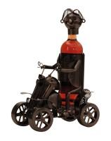 Wein-Flaschenhalter Quad