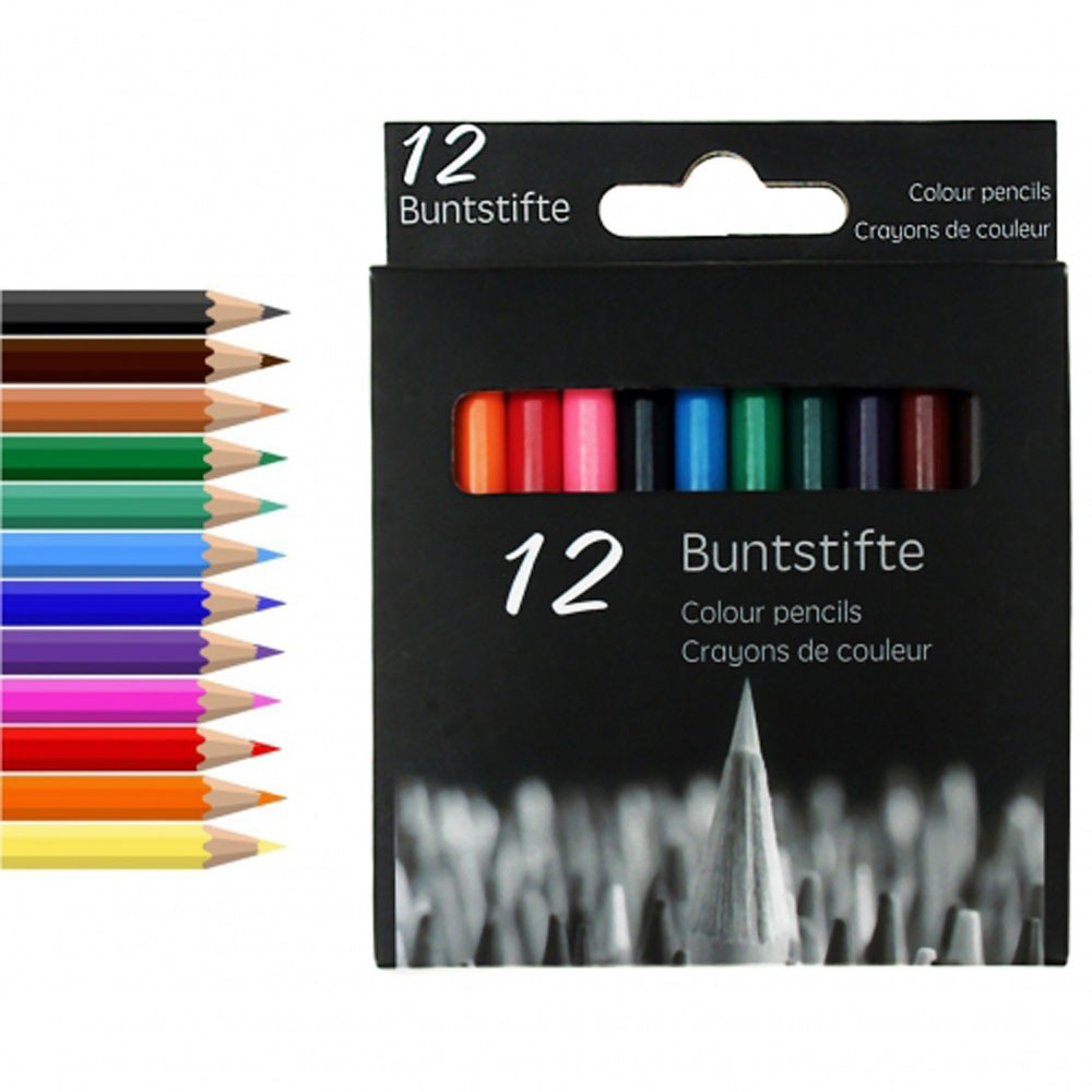 Buntstifte, 12er Set