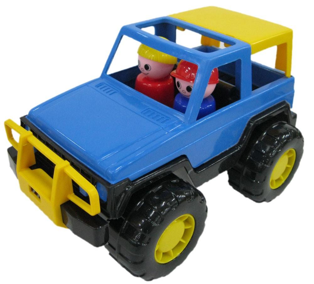 My First Jeep Voyage, farblich sortiert