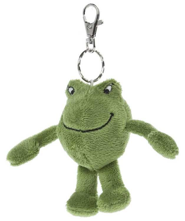 JANOSCH Schlüsselring Kastenfrosch
