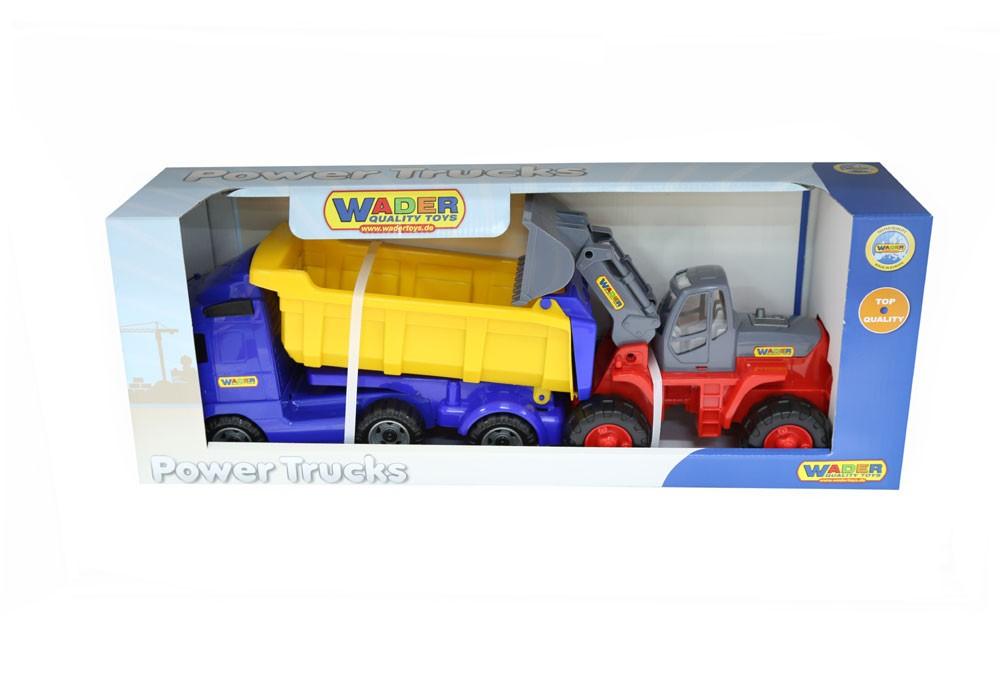 Power Truck Kipper und Bagger