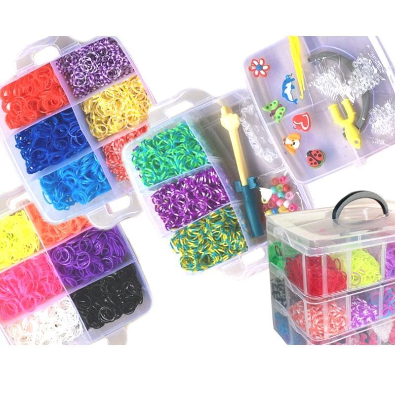 DIY Loom Bands XL Stapelbox