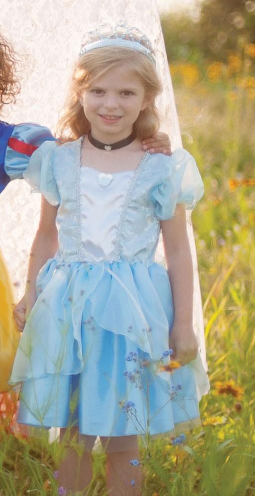 Kinderkostüm Tea Party - Faschingskleid Aschenputtel