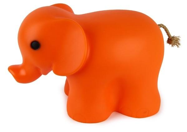 Nachtlicht Elefant orange