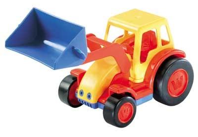 Traktor mit Schaufel - BASICS von wadertoys